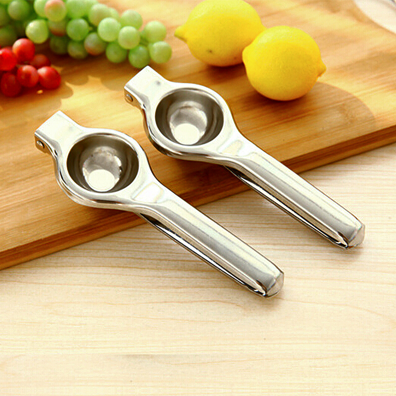Stainless Manual Fruit Lemon Lime Squeezer Citrus Juicer Hand Press Tool
