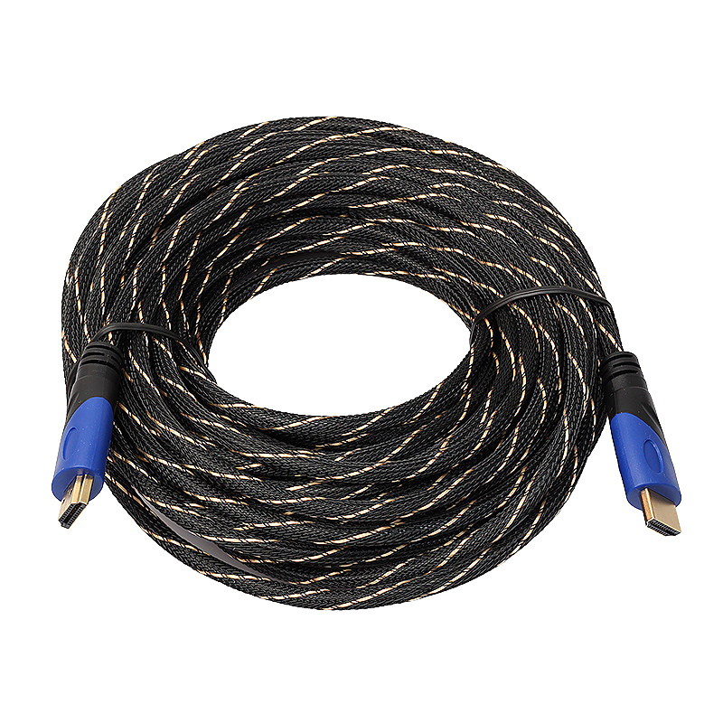 New Braided HDMI Audio Video Cable HD 3D for PS3 Xbox HDTV - 15M