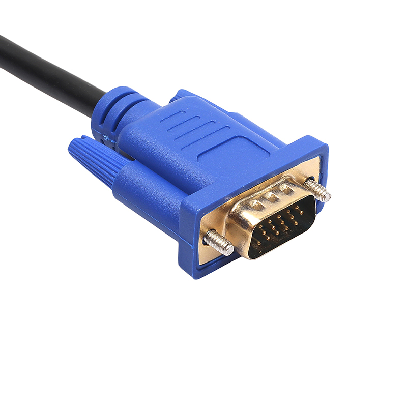 3m HDMI Gold Male to VGA HD-15 Male 15 Pin Adapter Cable