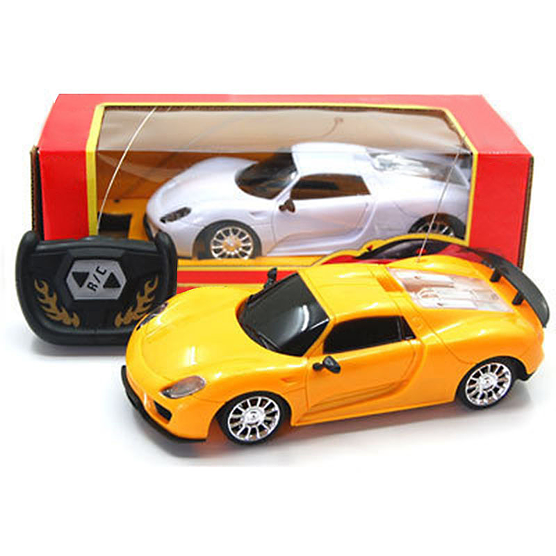 Kids 1:24 Racing Vehicle Radio RC Car Remote Control Electric Toy Random Color 1009-1