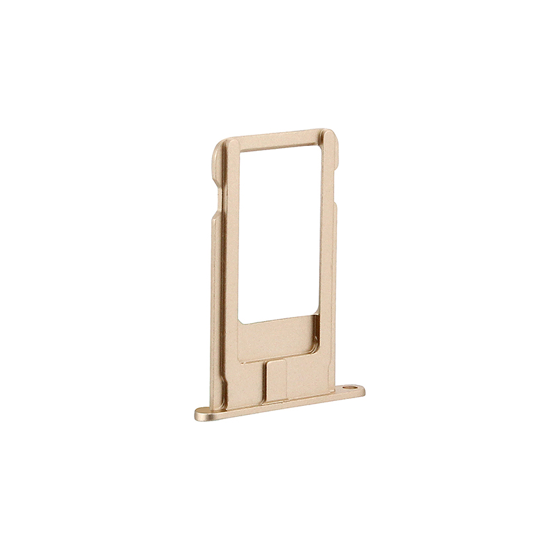 Single SIM Card Tray Holder Slot Replacement for iPhone 6 - Gold