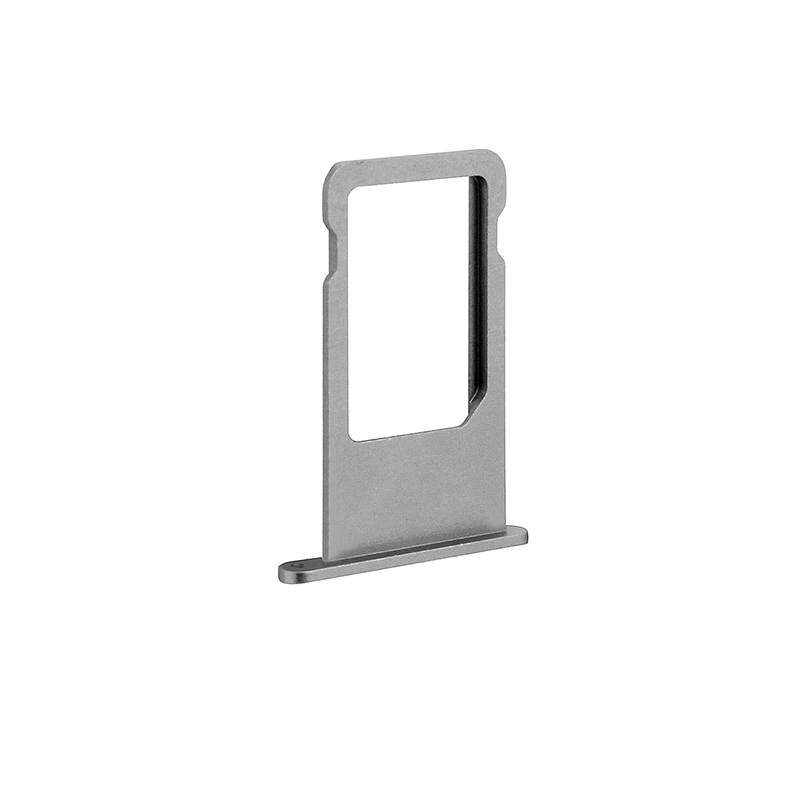 Gray Sim Card Tray SD Card Reader Holder Replacement for iPhone 6S
