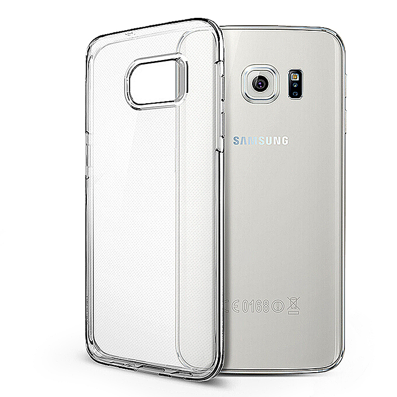 Slim Transparent TPU Case with Shockproof Particles Corner for Samsung S7