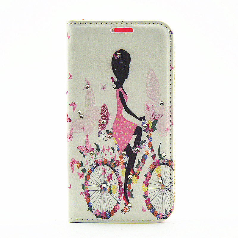 Butterfly & Fairy Magnetic Stand Flip Case for Samsung S7 - Bicycling