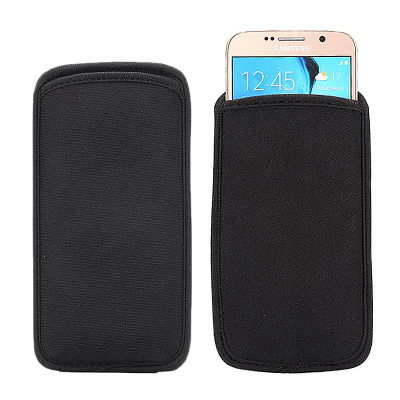 Universal 4.7 Inch Soft Neoprene Shock Resistance Mobile Phone Pouch Case Cover