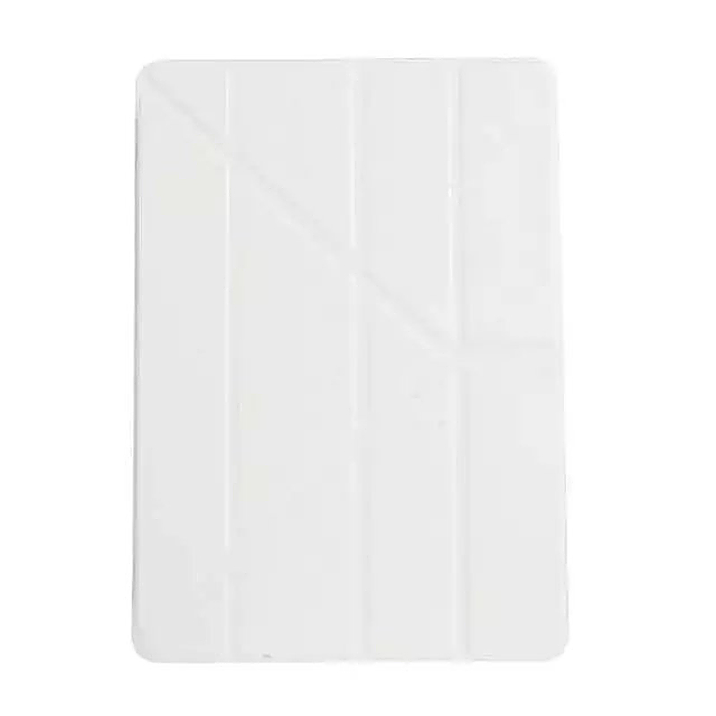 9.7 Inch Transformers PU Leather Magnetic Smart Stand Cover Case for iPad Pro - White