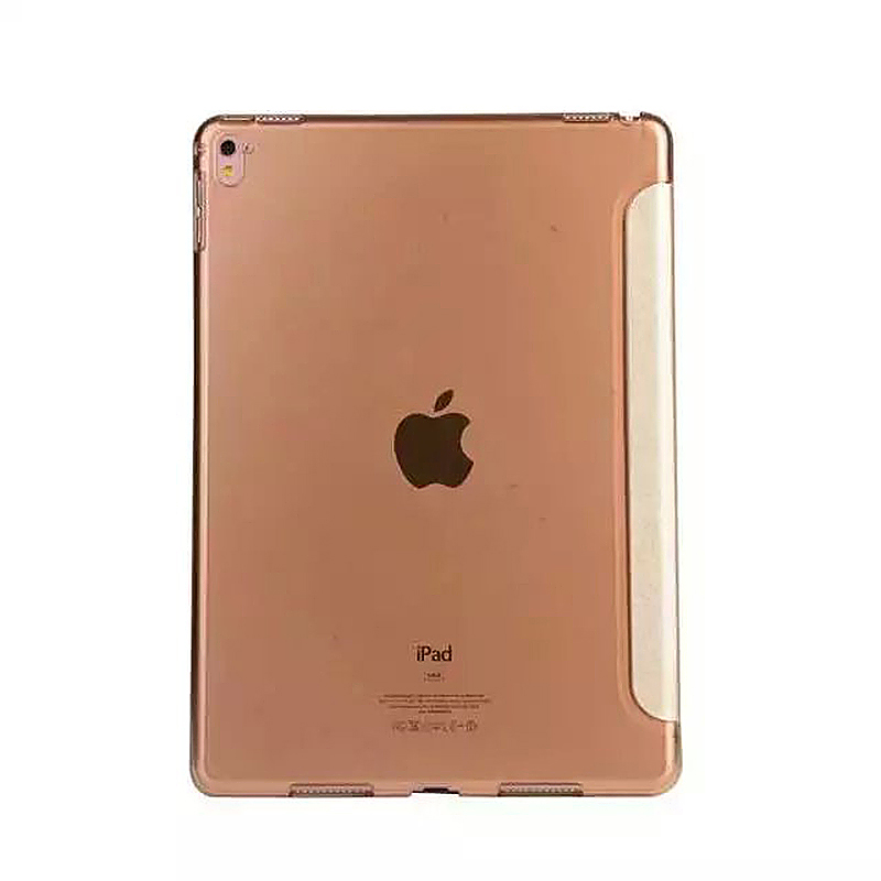 9.7 Inch Transformers PU Leather Magnetic Smart Stand Cover Case for iPad Pro - Golden