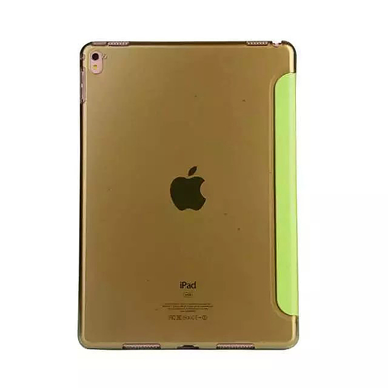 9.7 Inch Transformers PU Leather Magnetic Smart Stand Cover Case for iPad Pro - Green