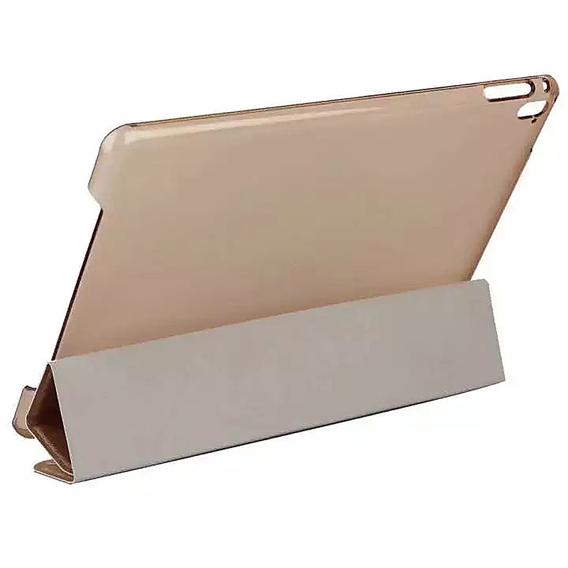 9.7 Inch Slim PU Leather Magnetic Tri-Fold Smart Stand Cover Case for iPad Pro - Pink