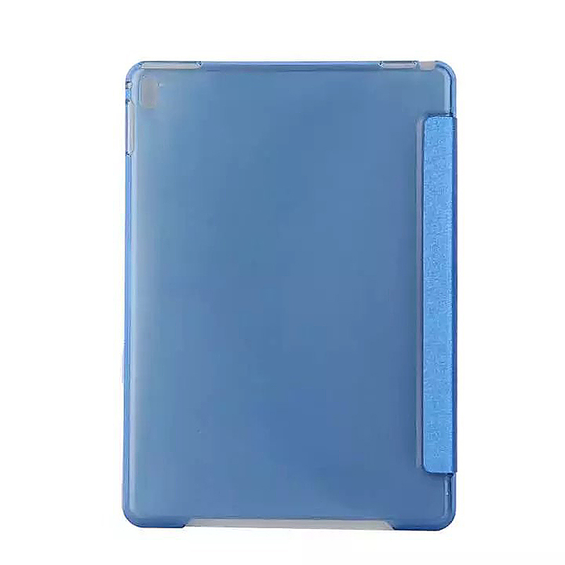 9.7 Inch Slim PU Leather Magnetic Tri-Fold Smart Stand Cover Case for iPad Pro - Blue