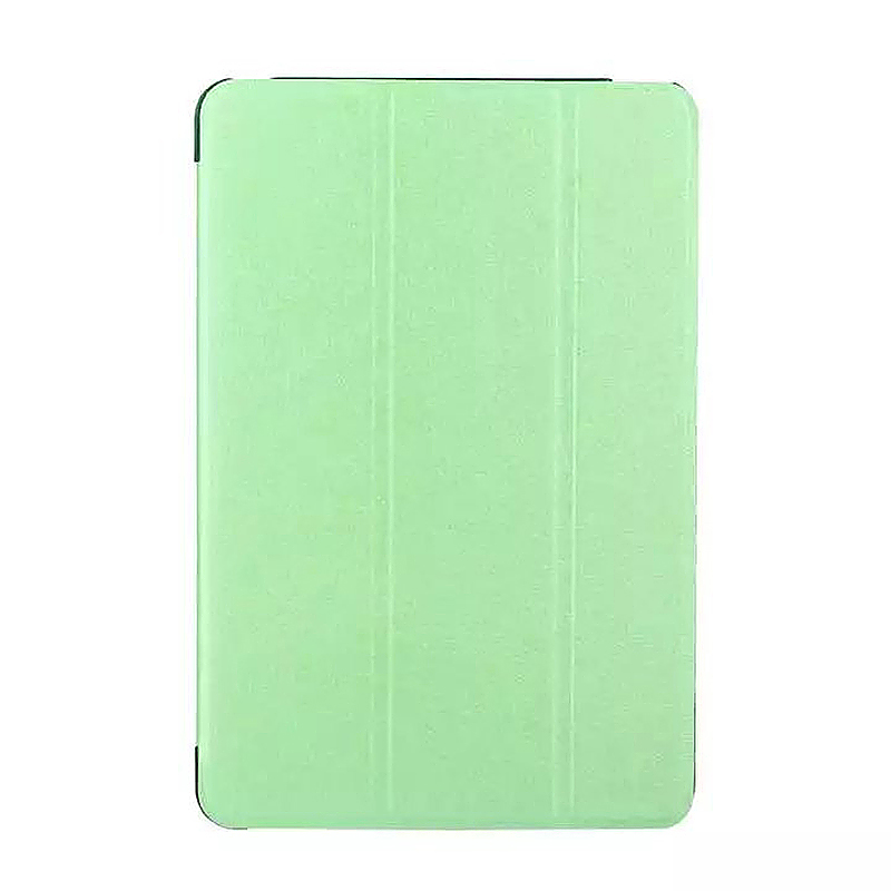9.7 Inch Slim PU Leather Magnetic Tri-Fold Smart Stand Cover Case for iPad Pro - Green