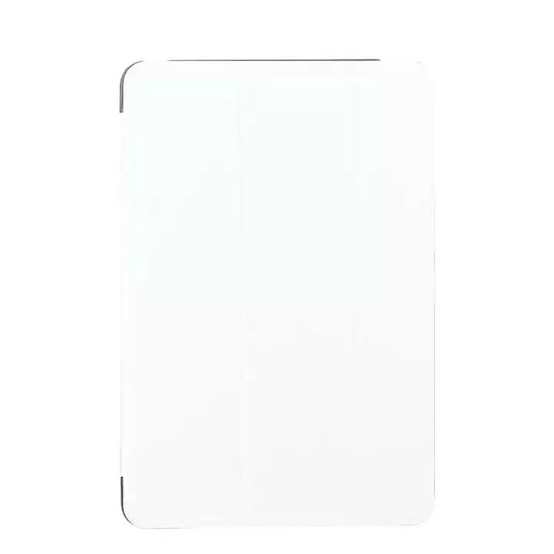 9.7 Inch Slim PU Leather Magnetic Tri-Fold Smart Stand Cover Case for iPad Pro - White