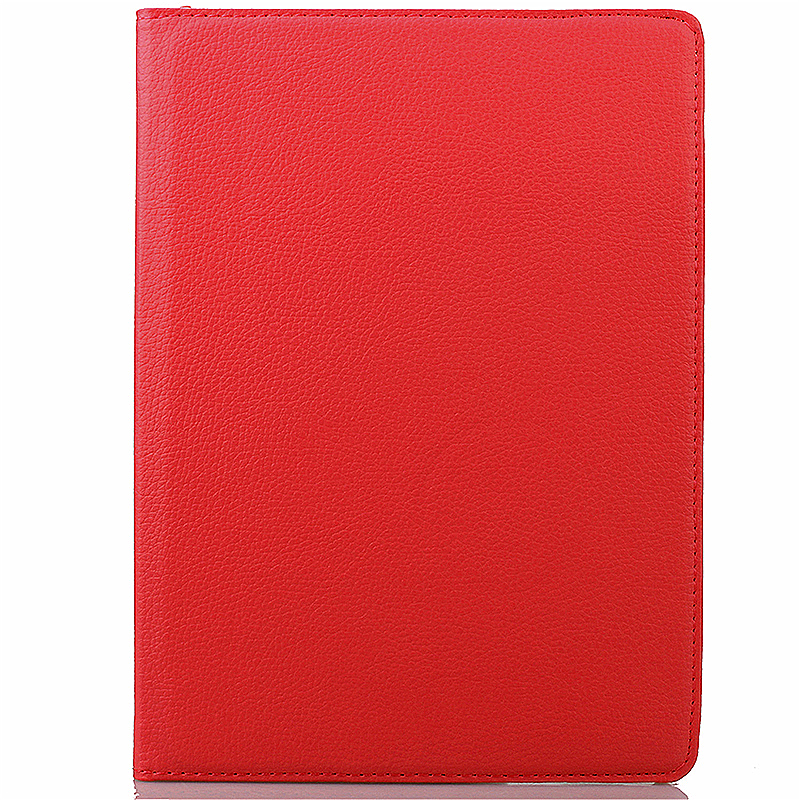 360 degree Rotating PU Leather Flip Stand Case Cover Skin for iPad Pro 9.7 - Red