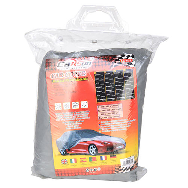 Universal Waterproof Breathable Full UV Protection Car Cover - Size L
