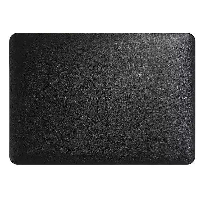 13 Inch Full Body Front + Back Slim Shell Protective Cover Case Skin for Macbook Air - Black