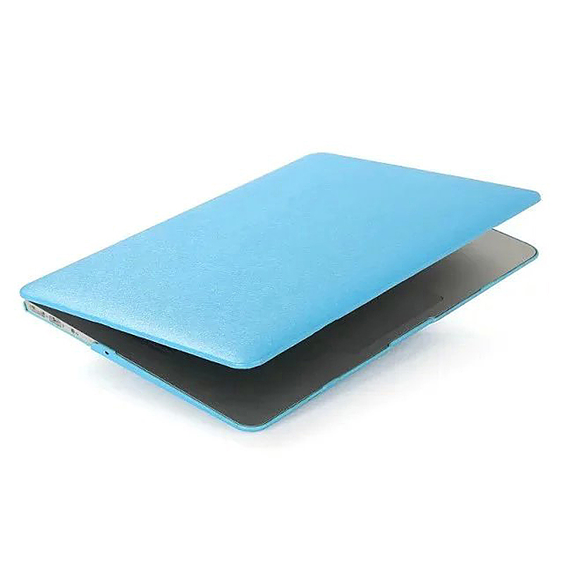 13 Inch Full Body Front + Back Slim Shell Protective Cover Case Skin for Macbook Air - Blue