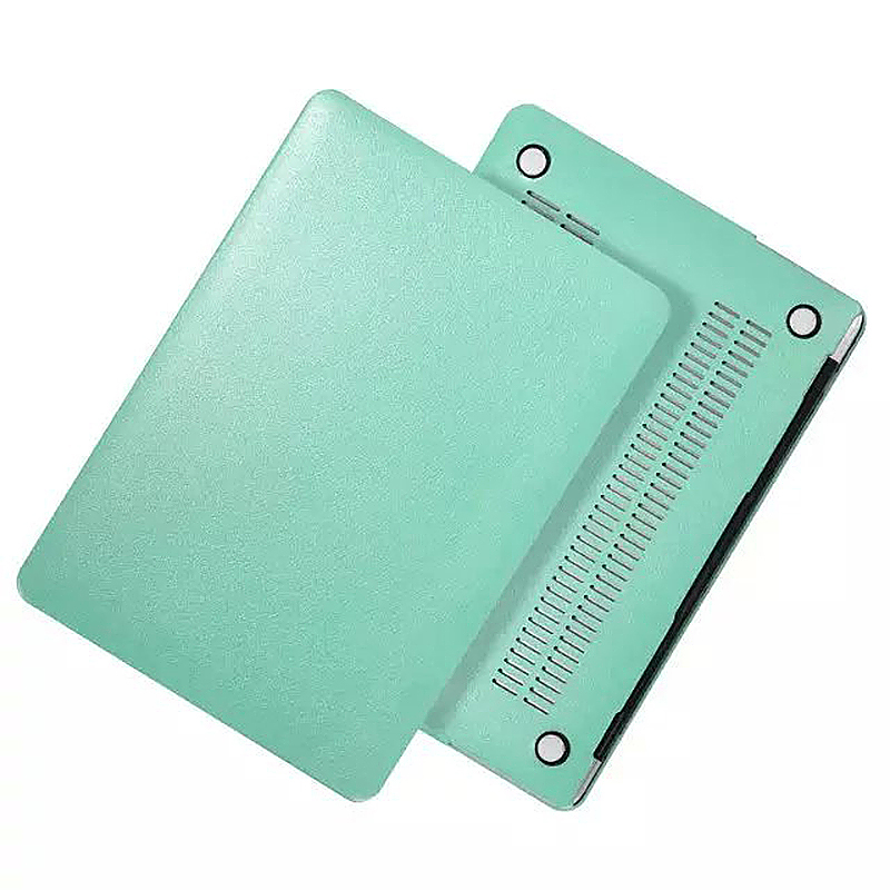 13 Inch Full Body Front + Back Slim Shell Protective Cover Case Skin for Macbook Air - Green