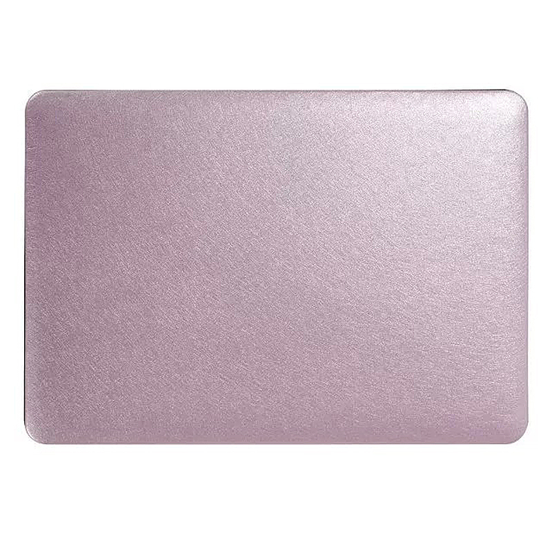 13 Inch Full Body Front + Back Slim Shell Protective Cover Case Skin for Macbook Air - Rose Gold