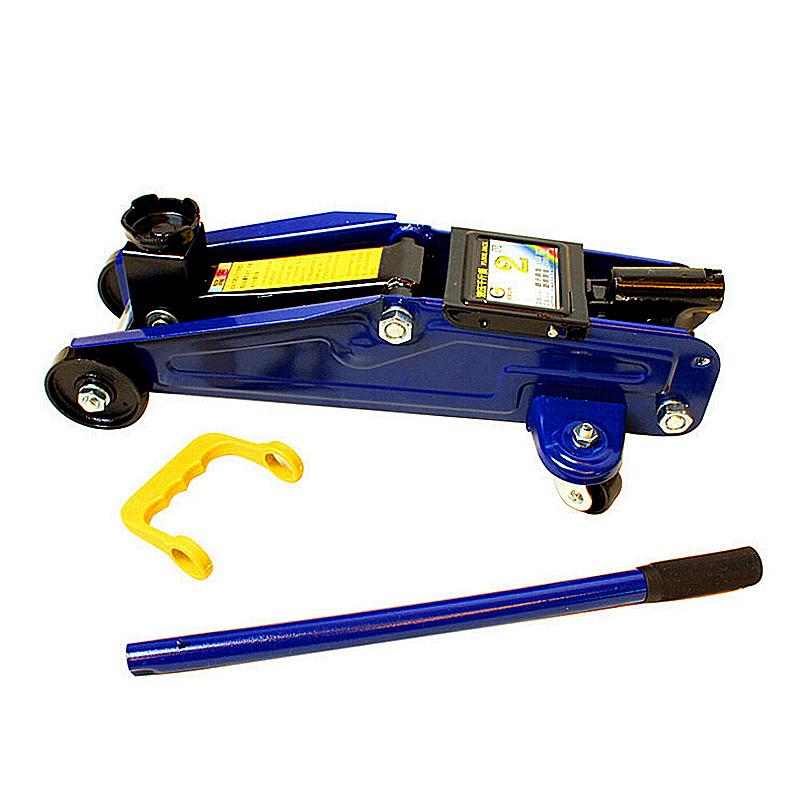 2T3T Manual Hydraulic Car Ton Steel Floor Jack - Blue