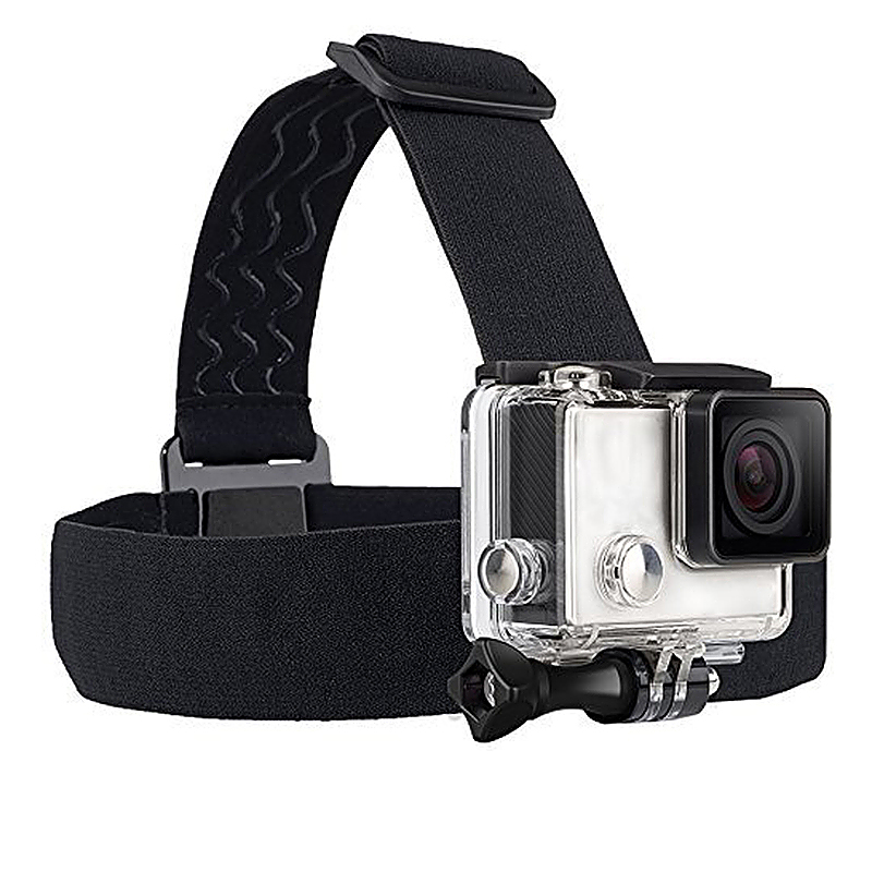 Adjustable Elastic Head Strap Belt Harness Mount for GoPro HERO 4/3+/3/2/1