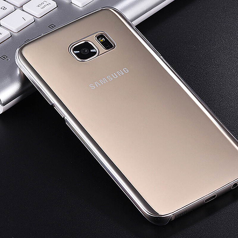 PC Cystal Clear Phone Back Cover Case for Samsung Galaxy S7
