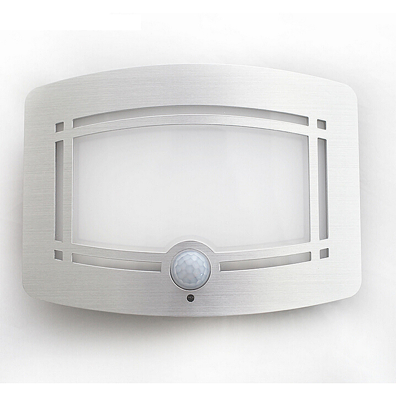 LED Motion Activated LED Wireless Wall Light Hallway Staircase Cabinet