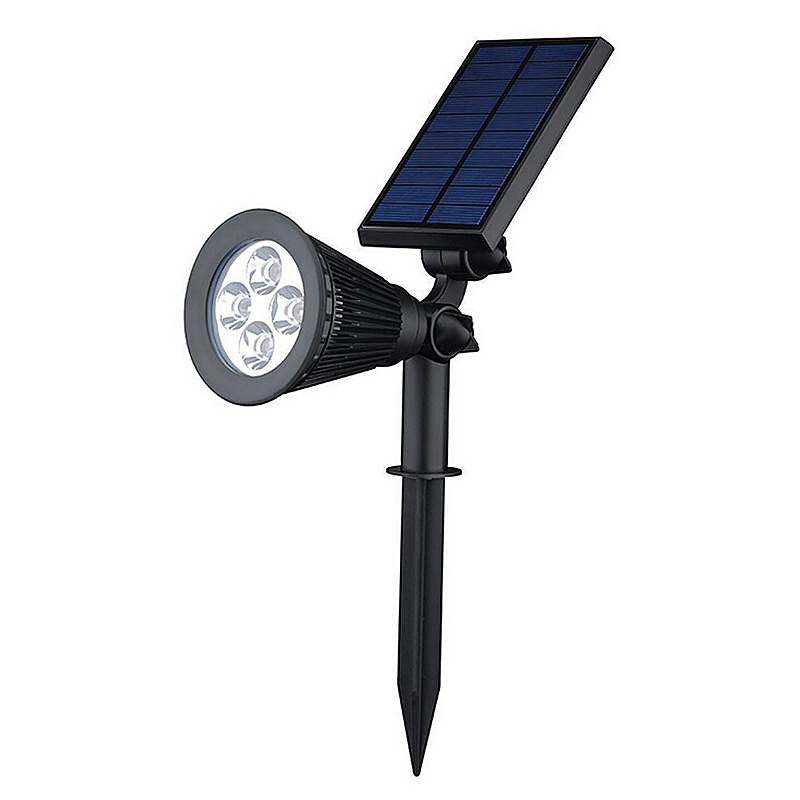 Outdoor Waterproof Spotlight LED Solar Lights Night Lights for Garden Backyards