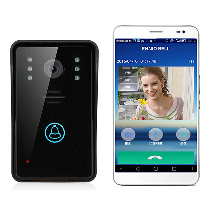 New Wireless Wifi Remote Video Camera Phone Intercom Home Security Door Bell