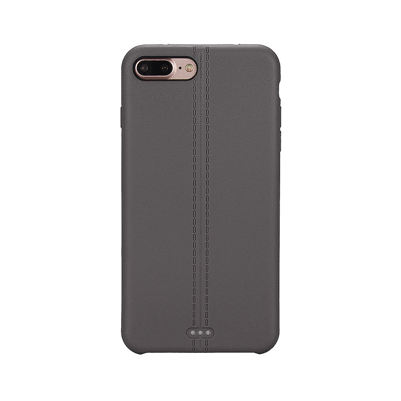 Luxury Soft TPU Phone Cover Protective Case for iPhone 7 Plus - Gray
