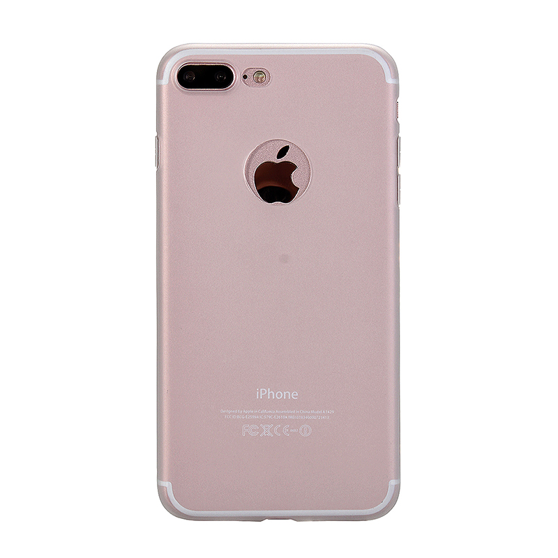 Fashion Multiple Color Soft TPU Phone Cover Case for iPhone 7 - White