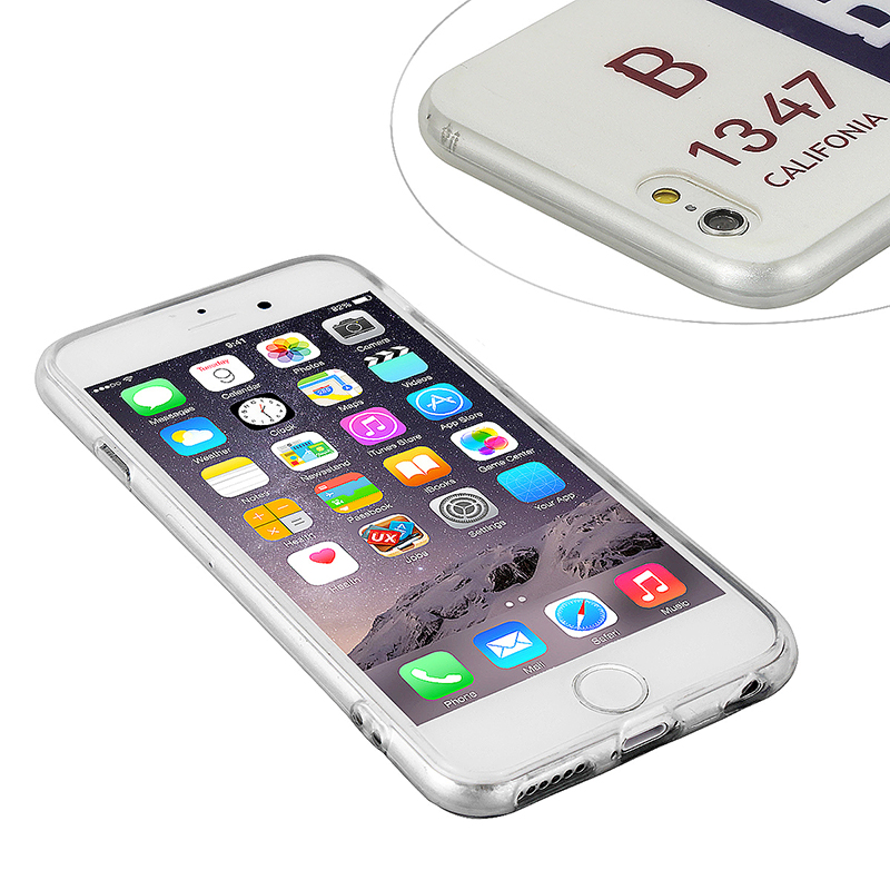 Fashion Soft TPU Phone Cover Case for iPhone 6S - B-1347