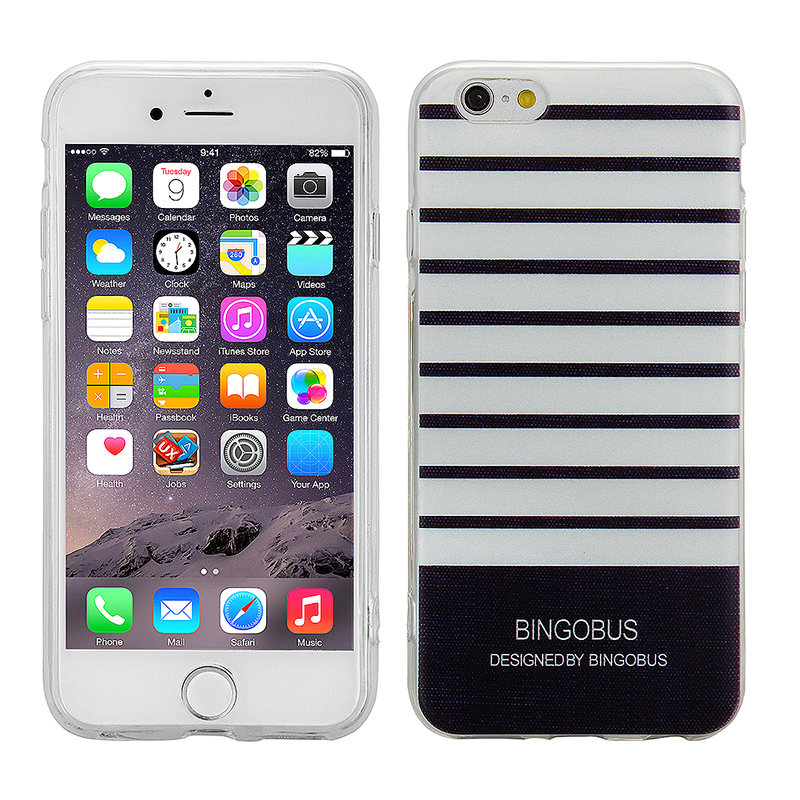 Fashion Soft TPU Phone Cover Case for iPhone 6S - BINGOBUS