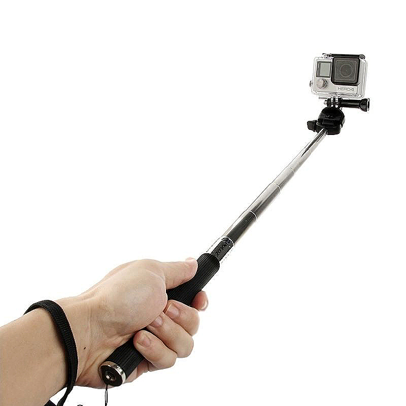 GoPro Monopod Handheld Extendable Selfie Stick Basic - Black