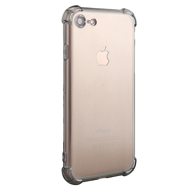 Shockproof Protective Phone Case Cover for iPhone 7 - Gray