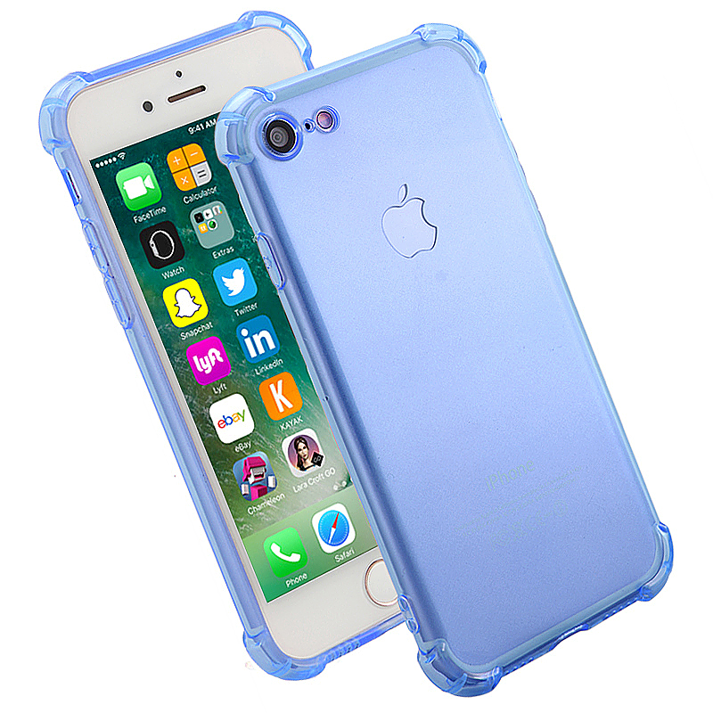 Shockproof Protective Phone Case Cover for iPhone 7 - Blue