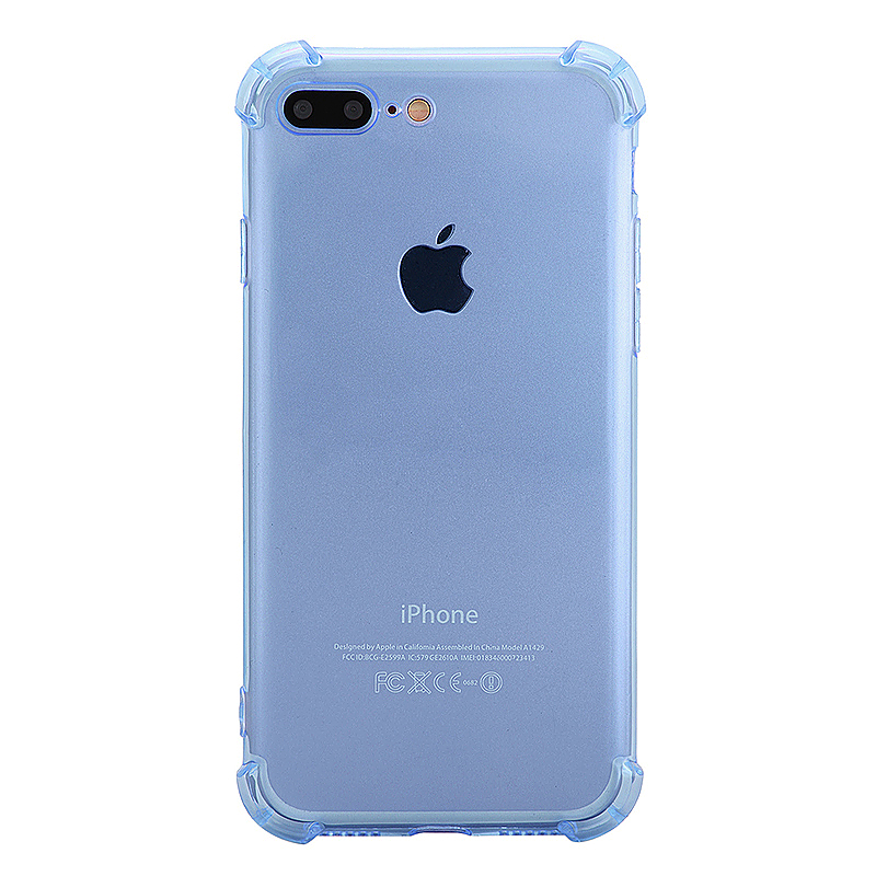 Shockproof Protective Phone Case Cover for iPhone 7 Plus - Blue