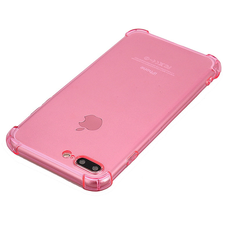 Shockproof Protective Phone Case Cover for iPhone 7 Plus - Pink