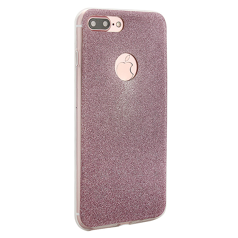 Luxury Bling Shiny Soft Phone Cover Case for iPhone 7 Plus - Rose Gold