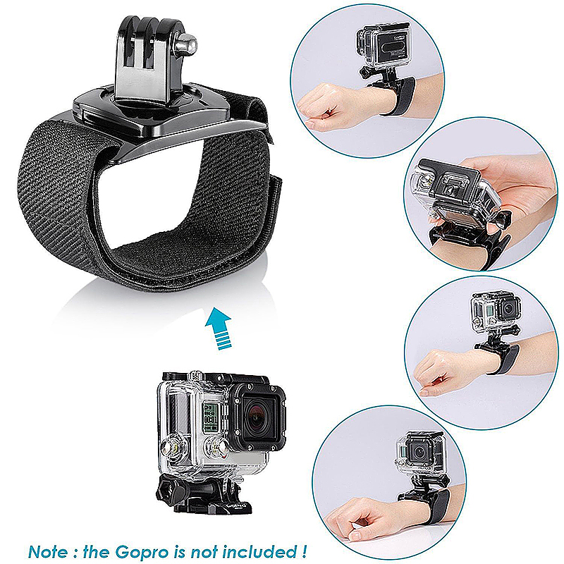 12 in 1 Outdoor Sports Essentials Kit for GoPro Hero 4 3+
