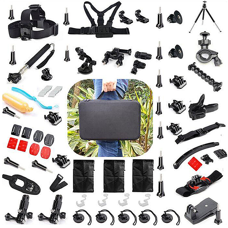 57 in 1 Outdoor Sports Essentials Kit for GoPro Hero 4 3 3+