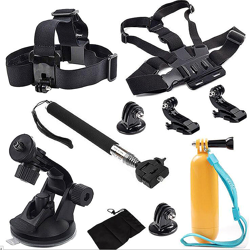 Outdoor Sports Essentials Basic Kit for GoPro Hero 4 3 3+