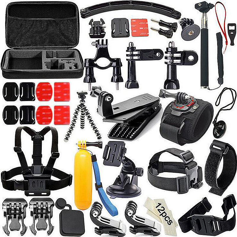 51 in 1 Outdoor Sports Essentials Kit for GoPro Hero 4 3 3+