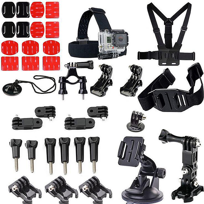 37 in 1 Outdoor Sports Essentials Kit for GoPro Hero 4 3 3+
