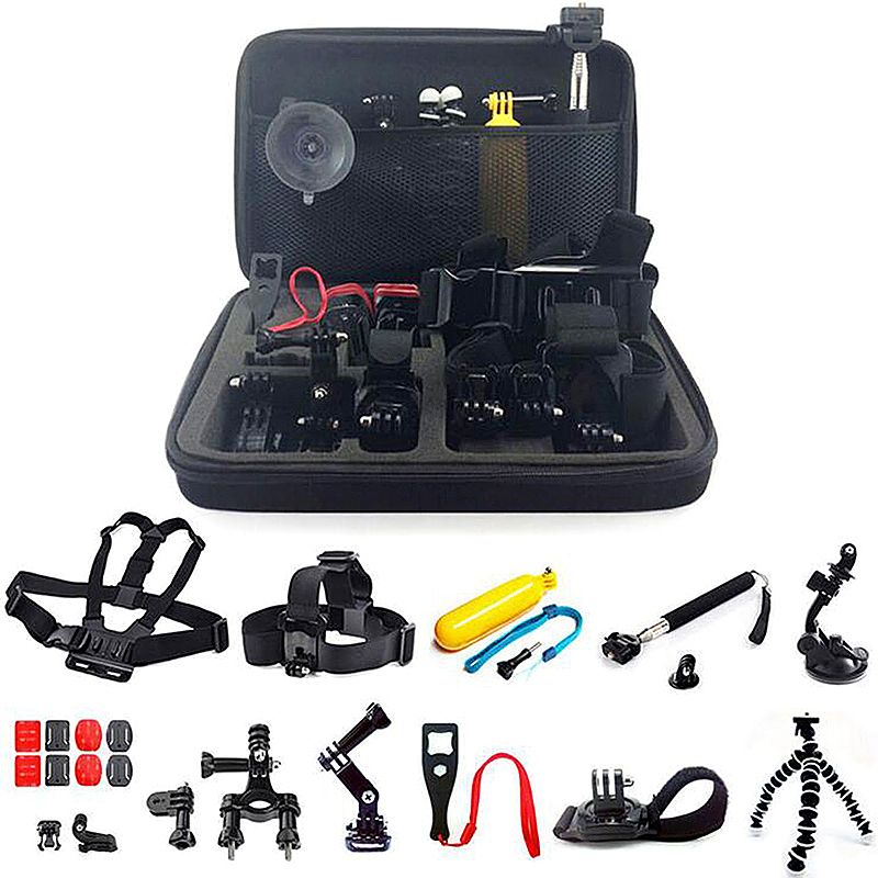 23 in 1 Outdoor Sports Essentials Kit for GoPro Hero 4 3+