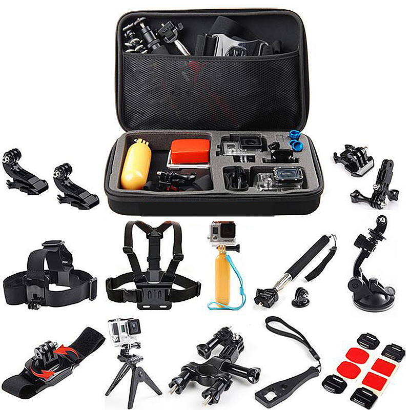27 in 1 Outdoor Sports Essentials Kit for GoPro Hero 4 3 3+