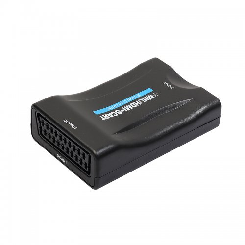 1080P HDMI to SCART Composite Video Converter Audio Adapter for DVD STB