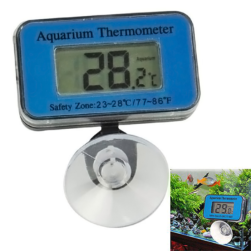 Digital LCD Waterproof Aquarium Water Tank Temperature Thermometer