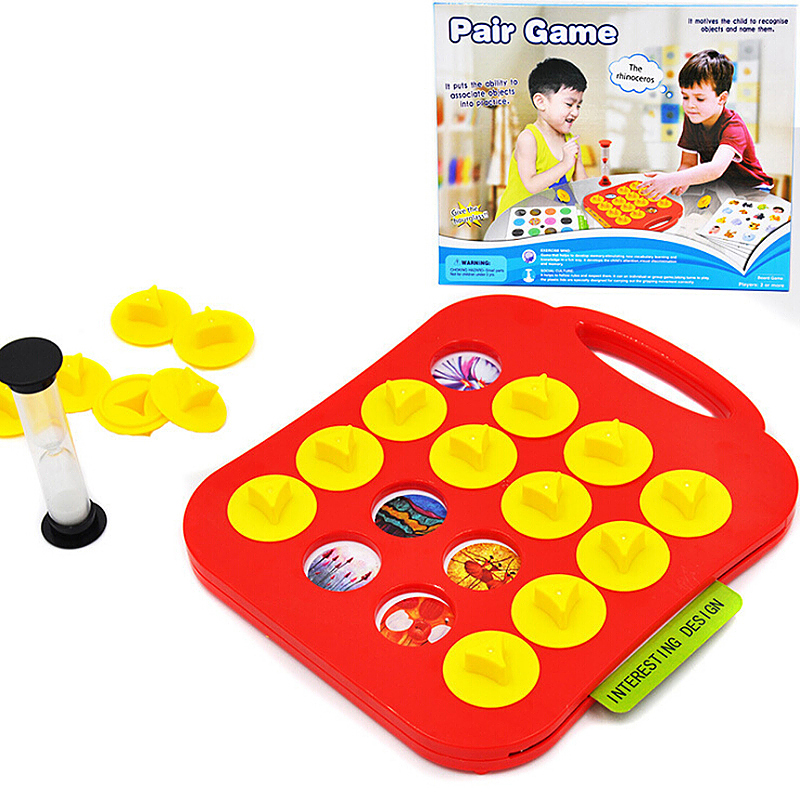 Kids Toy Chess Memory Match Board Game Toy Gift Game