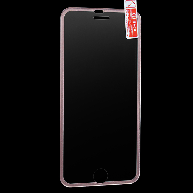 Full Covered 3D Tempered Glass Screen Protector for iPhone 6 / 6S - Rose Gold