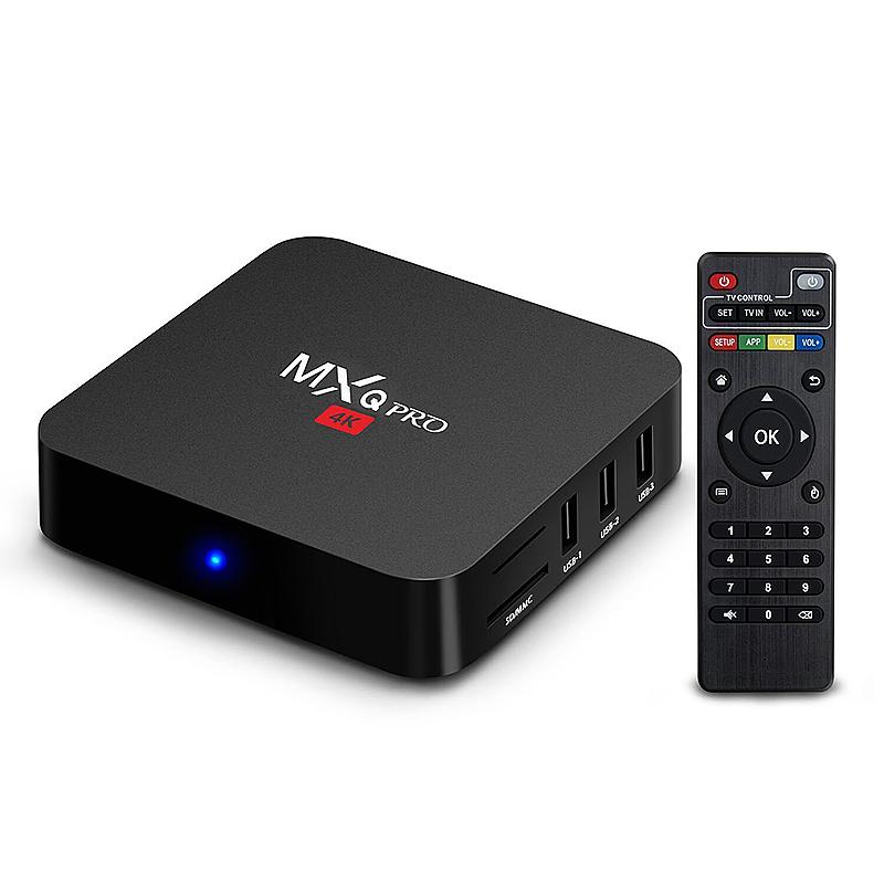 MXQ PRO 2.0GHz Quad Core Amlogic S905 Android 5.1 TV Box